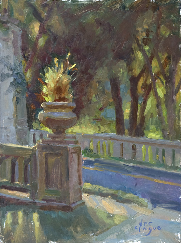 Roadside Planter by Andrea Orr Clague